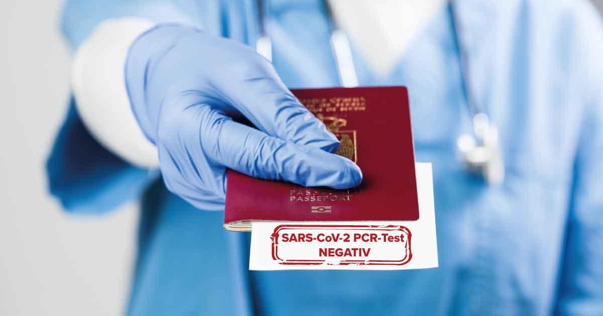 nformationen zum Coronavirus-PCR-Test